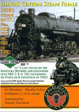 Illinois Central Steam Finale Dvd Herron Rail Video Ic Nkp 765