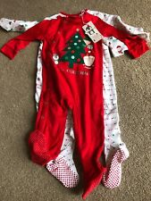 Mothercare Sleepsuits - 3 Pack 9-12 Months