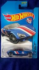 Hot Wheels Avant Garde Diecast 2014 HW City 1:64 Scale Blue Racing Car Rare