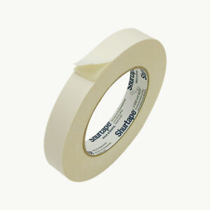 Shurtape DF-65 Double Faced Flat Paper Tape: 3/4 in. x 36 yds. (Natural)