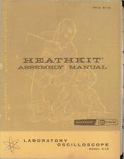 Assembly Manual-Anleitung für Heathkit O-12