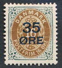 DENMARK 79a MINT LH INVERTED FRAME