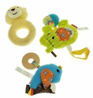 LOT Soft Baby Toy Teether Soother Infantino Lamaze Doll Teething Rattle