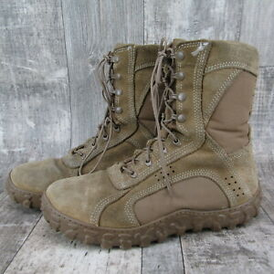 Rocky S2V 104 Special Ops Vented Military Boots 11 WIDE Coyote Brown Navy