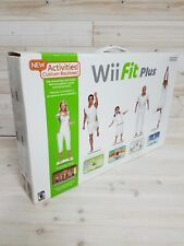 Nintendo Wii Fit Plus With Balance Board Yoga Aerobics ~ Sealed Box Never Used