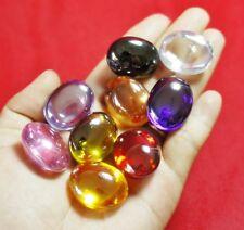 Powerful Nok Phra Gow 9 Colors Lucky Gems Naga Eye Crystal (Big) Thai Amulet#A25