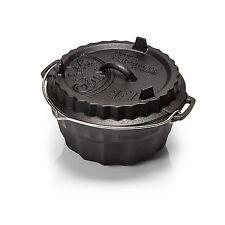 Petromax Gugelhupfform mit Tortenbodendeckel Backform Dutch-Oven Feuertopf