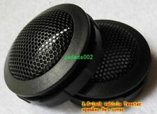 """2pcs 1.5""""inch Car Tweeter Decorative circle speaker grille protection net cover"""