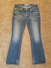 BIG STAR Buckle Casey K Low Rise Bootcut womens jeans - size 25R - 30 x 31  Boot