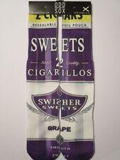 odd sox swisher sweets grape BUY any 3 GET 4TH PAIR FREE pop culture socks