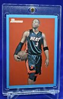 DWYANE WADE BOWMAN 48 BLUE /1948 VINTAGE CLEAN LOOK MIAMI HEAT LEGEND RARE SP