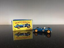 Lesney Vintage Matchbox Car 52 B.R.M Racing Car