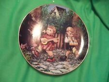 Hummel Plate - Little Companions Private Parade from the Danbury Mint