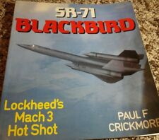SR-71 BLACKBIRD BY PAUL F. CRICKMORE OSPREY BOOK