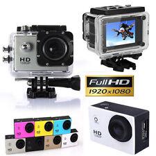 TELECAMERA h.264 FULL HD1080P CAMERA SPORT FULL HD GO PRO SUBAQUEA 30MT CON SD