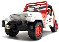 JADA METALS 1/24 DISPLAY JURASSIC WORLD JP STAFF JEEP WRANGLE Diecast Car 97812