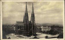 Wien Österreich Austria 1930 Freiheitsplatz Votivkirche Hotel Regina Kirche Dom