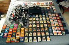 Atari 2600 Mega Lot. Vader Console, 9 Joysticks, 106 Game Cartridges, Manuals