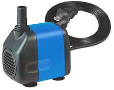 265 GPH Submersible Fountain Pond Aquarium Water Pump Powerhead Hydroponics