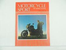 Vintage Feb 1986 MOTORCYCLE SPORT Magazine Honda Moto Guzzi GPz900 L5152