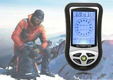 Digital LCD 8 In 1 Compass+Altimeter+Barometer+Thermometer+Weather Forecast+Hist