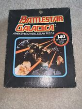 Vintage 1978 Battlestar Galactica Parker Brothers Jigsaw Puzzle, 1 Pc. Missing