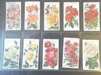 1914 Wills ROSES  Garden Rose Types series 2 set 50 cards Tobacco Cigarette