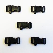 "10 pcs X 15mm 5/8""  Emergency Survival WHISTLE BUCKLES FOR PARACORD BRACELETS"