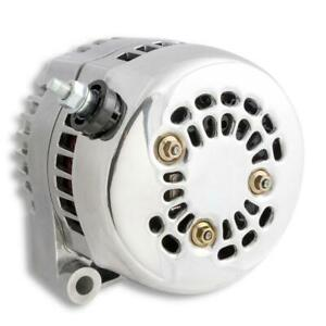 Holley Alternator 197-304; Premium 150 Amp Polished Internal for Chevy LS-Series