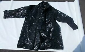Sou'wester  L Coat and Hat  PVC Vinyl on viscose