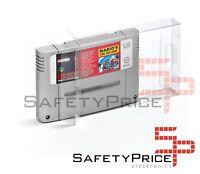Cover Scatola Protettiva Cartucce Super Nintendo Snes Sfc Box Protettore Cover