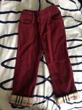 Burberry Girls Pants Size 5 Euc