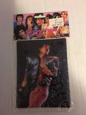 1983 Rolling Stones PUFFY STICKERS SHEET SEALED MICK JAGGER EX Condition PS3