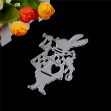 Alice Wonderland White Rabbit Metal Cutting Dies Stencil DIY Album Deco Craft TS