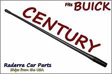 "**SHORT**  4/"" BLACK ALUMINUM ANTENNA MAST FITS 1982-2005 Buick Century"