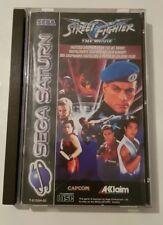 Street Fighter The Movie Sega Saturn complet Pal