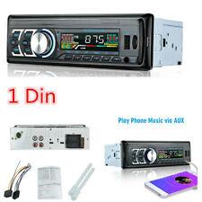 Car MP3 Radio Player Bluetooth Stereo Audio In-Dash FM Aux Input Receiver SD USB
