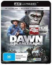 Dawn Of The Planet Of The Apes (4k UHD Blu-ray, 2017, 2-Disc Set)