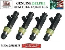 Reman Set/4 OEM Delphi Fuel Injectors for 2005-2007 Saab 9-7x 4.2L I6 *25358575