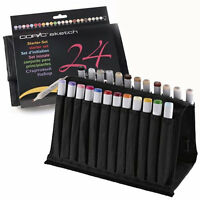 Copic Sketch 24 Marker Set in Wallet- Limited Edition REFILLABLE WITH COPIC INKS