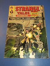 Strange Tales #138 Silver age Dr. Strange Nick Fury 1st Eternity Key VGF Wow