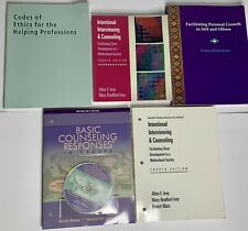 Brooks/cole Lot Of 5 Instructors Books Counseling Interviewing Haney Ivey Olson