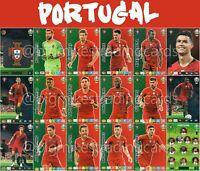 PANINI ADRENALYN XL UEFA EURO 2020 PORTUGAL FULL 18 CARD TEAM SET - EUROS