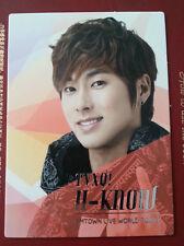TVXQ DBSK Tohoshinki official SMTown III Korea version Yunho photocard type 1