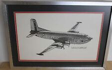 Vintage Douglas C-124 Globemaster Sketch Artist Joe Milich Lakewood Co. Rare