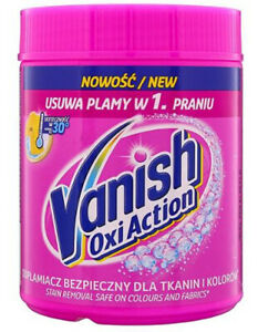 Laundry stain remover powder Vanish Oxi Action, 470 g for white fabrics &colored