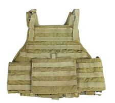 "Eagle Allied Industries MJK Khaki Tan MBAV L/XL Plate Carrier Vest ""B"" NSW SOCOM"