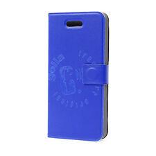 Golla G1548 EMILIE Slim Folder Tasche Hülle Etui Apple iPhone 5 5S SE Blau #234