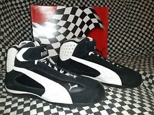 Puma grit Cat Racing Driving shoe Boot 42.5 mid Nomex FIA Rated future race pro