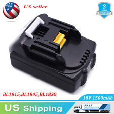 For Makita BL1815 BL1830 BL1840 LXT Lithium Ion 18V Replace Cordless Battery NEW